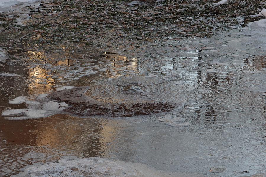 Вцентре Перми из-за утечки без воды остались три дома