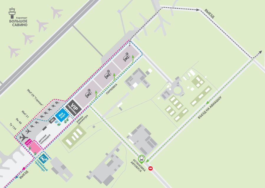 Схема площадки на «Соколе»