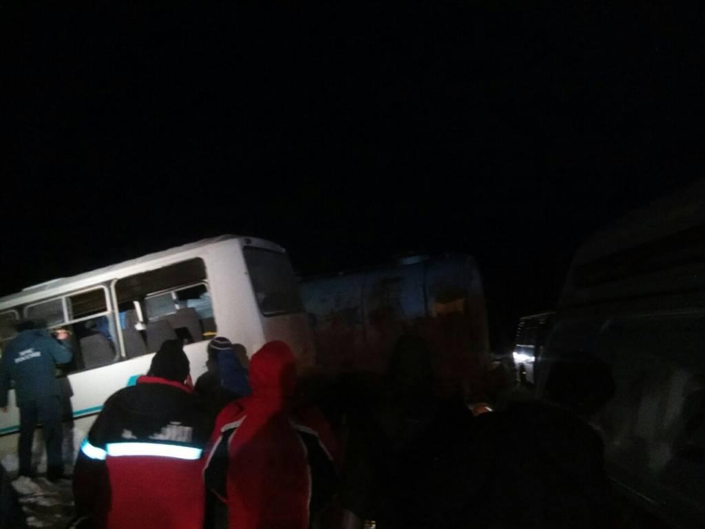 Вавтобусе сразбившимися вПрикамье нефтяниками ехали 13 человек
