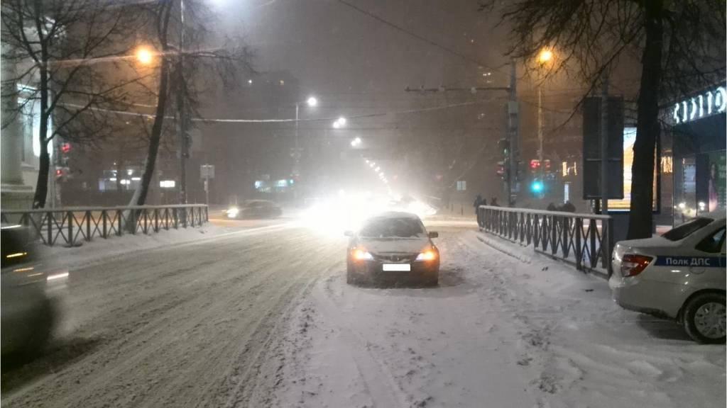 ВПерми из-за снегопадов случилось неменее ста ДТП